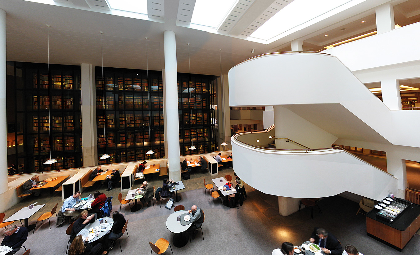 British Library interior