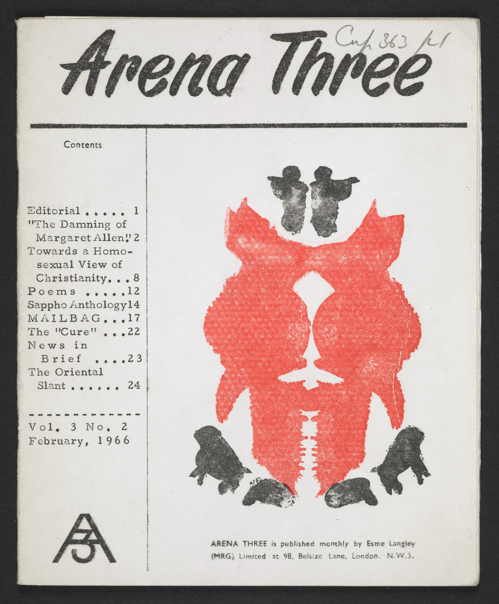 Arena Three magazine - The British Library