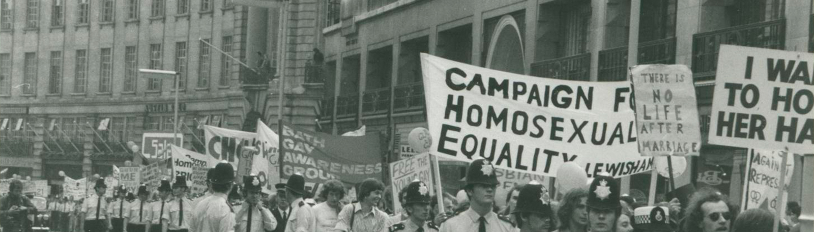 Gay Pride March, 1974