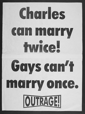 Charles Can Marry Twice! Gays can't marry once! poster