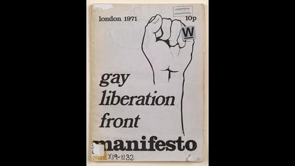 Gay Liberation Front Manifesto - The British Library