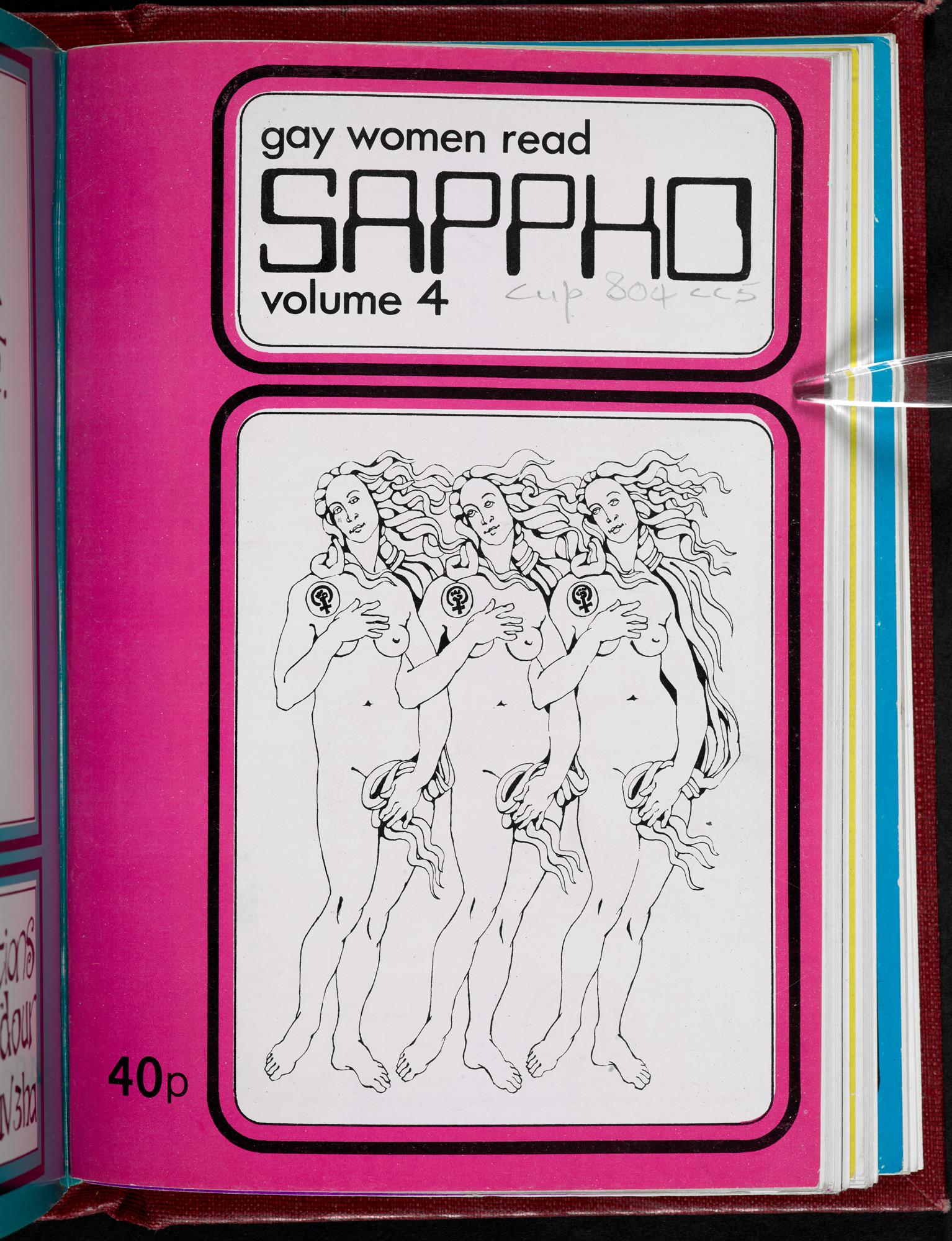 Sappho front cover