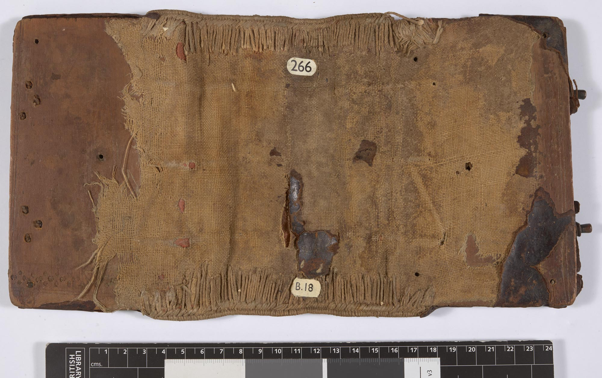 Detached Byzantine binding (Add MS 28821/1 fblef)