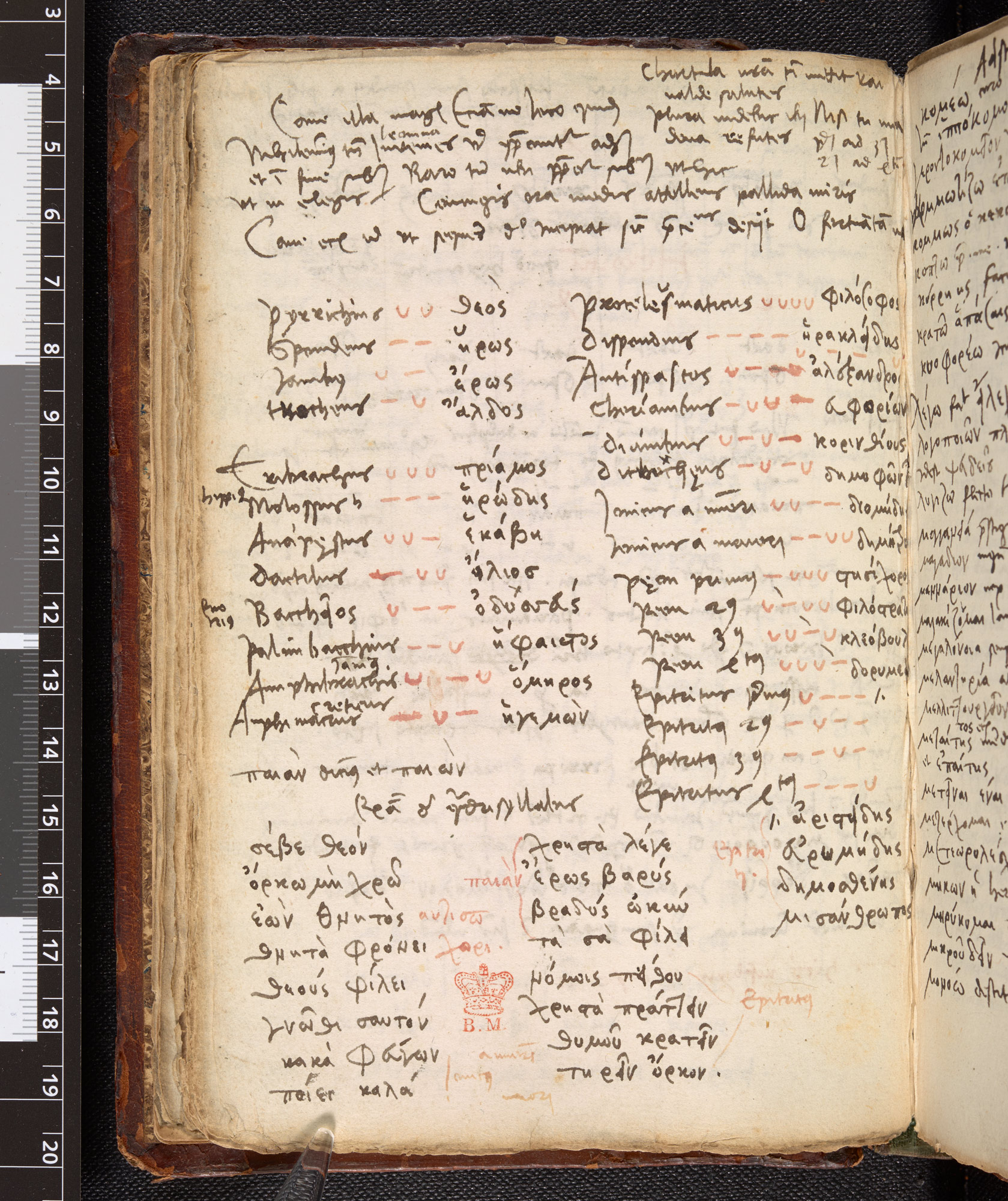Notebook of Johannes Cuno (Arundel MS 550 f028v)