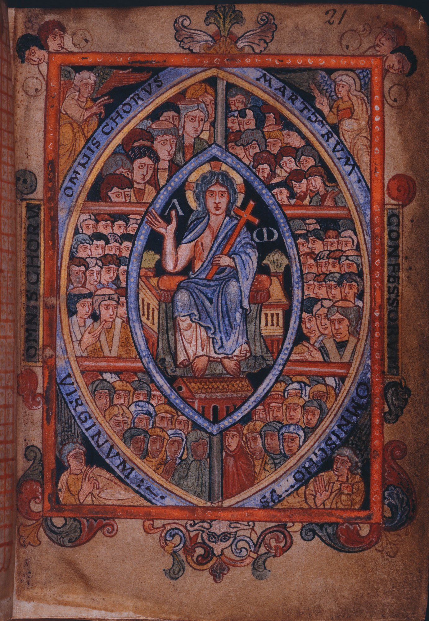 Cotton MS Galba A XVIII, f. 21r