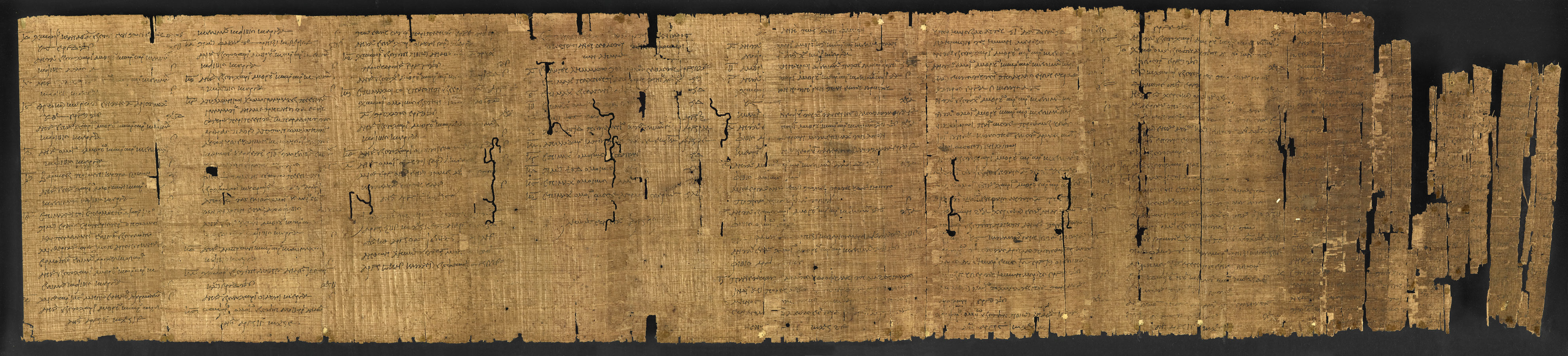 The Constitution of the Athenians (Papyrus 131 f001ar)