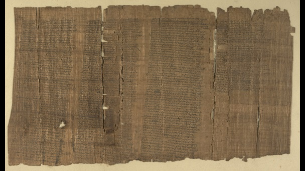The London Medical Papyrus, a first-century papyrus containing a treatise on medicine.