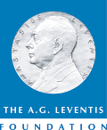 The logo of the A.G. Leventis Foundation.