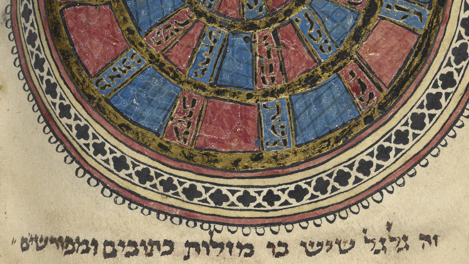 A Christian calendar in the Northern French Hebrew Miscellany (Sacha Stern)