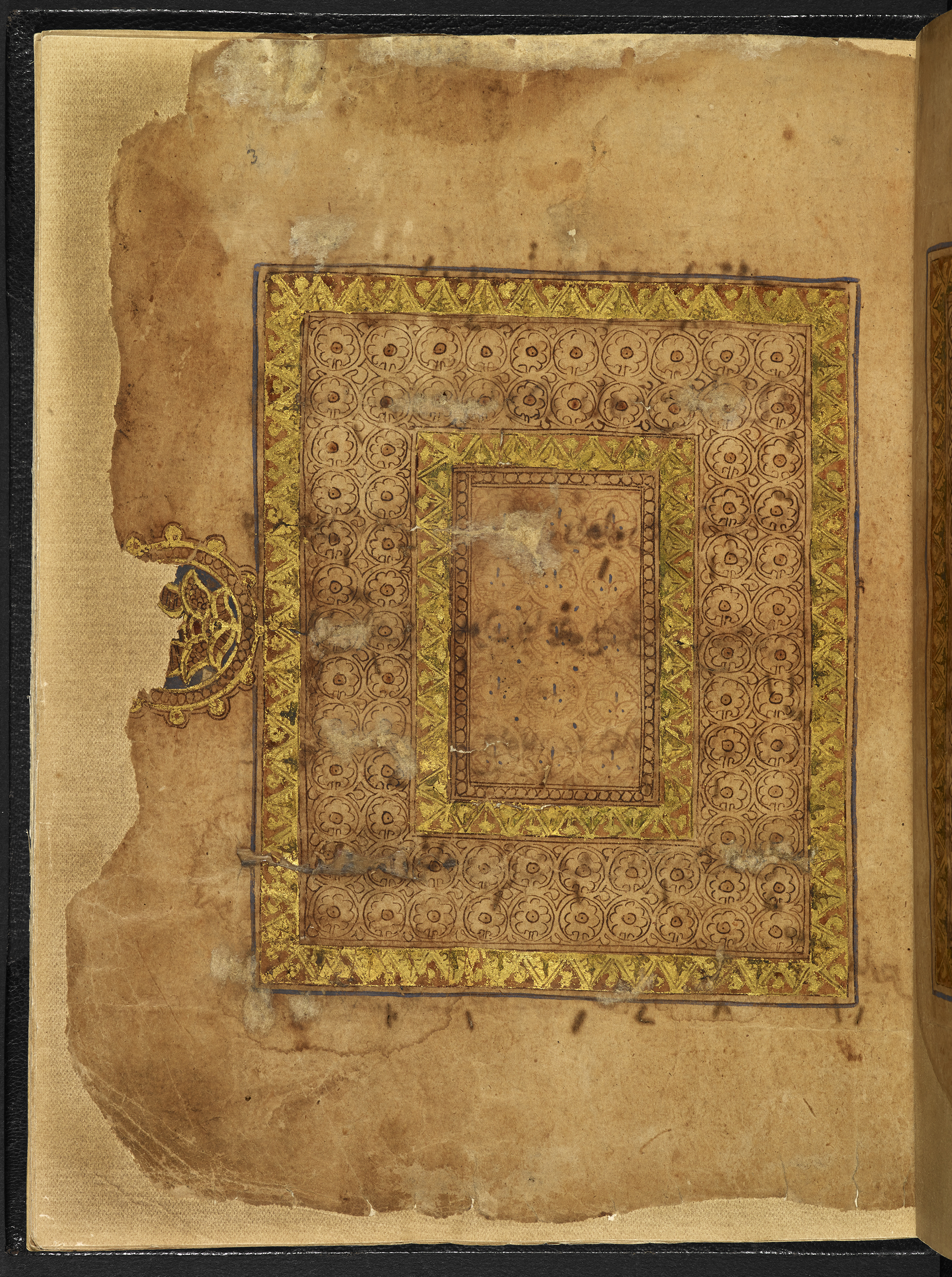 10th-century CE Hebrew Bible fragment from Palestine or Egypt (Or 2540, f. 3r; compare with a Qur'an written around 900 CE and kept in the Chester Beatty Library in Dublin), Hebrew Manuscripts Digitisation Project, British Library