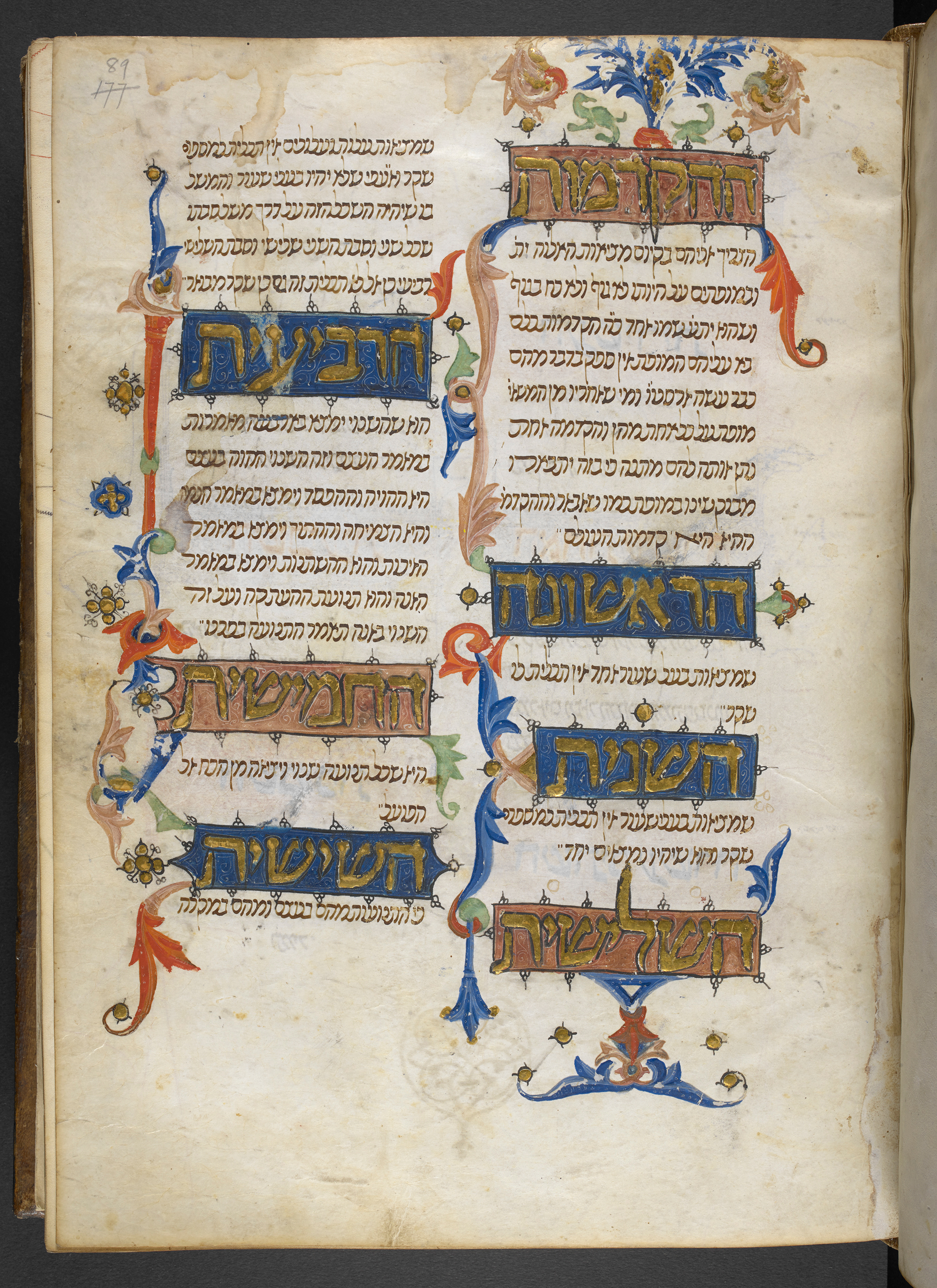 Maimonides' Guide for the Perplexed (Moreh Nevukhim), Or 14061, Hebrew Manuscripts Digitisation Project, British Library