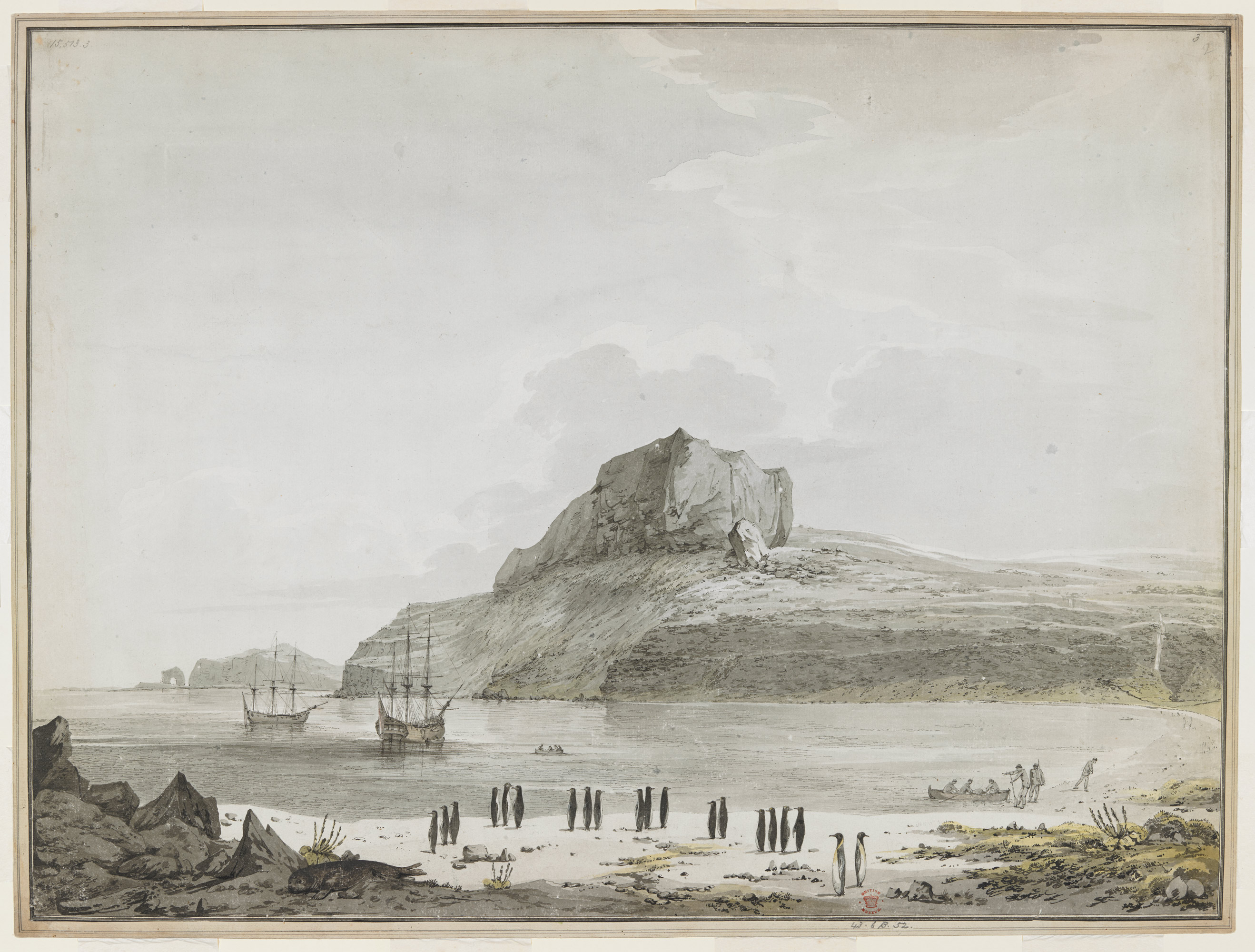 Christmas Harbour, Kerguelen Island, Captain Cook's third voyage