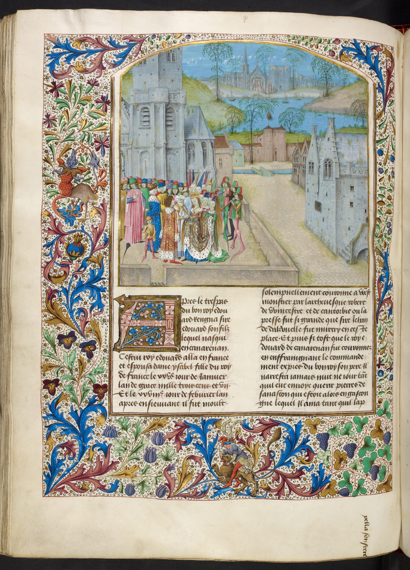 The Wedding of King Edward II and Isabella of France