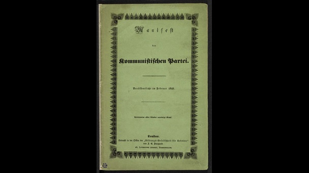 The Communist Party Manifesto, front cover