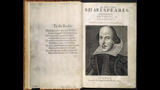 The First Folio Of Shakespeare 1623 By William Shakespeare