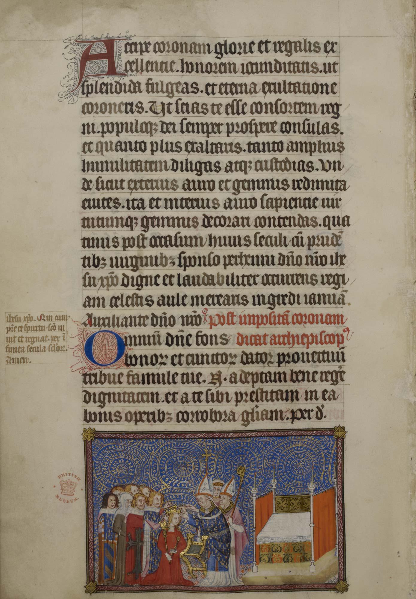 Coronation Order of Charles V, f.69