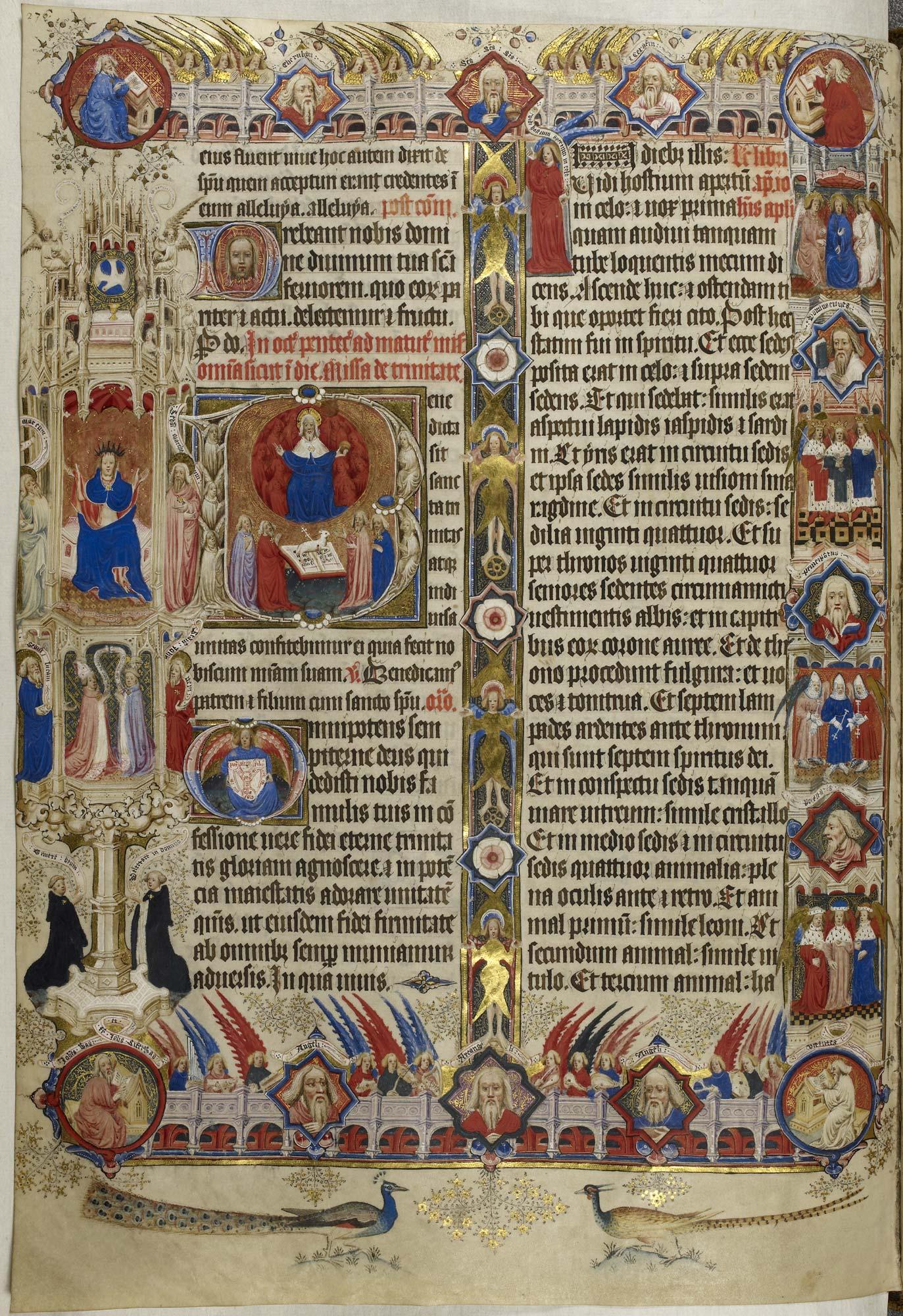 The Sherborne Missal f.276