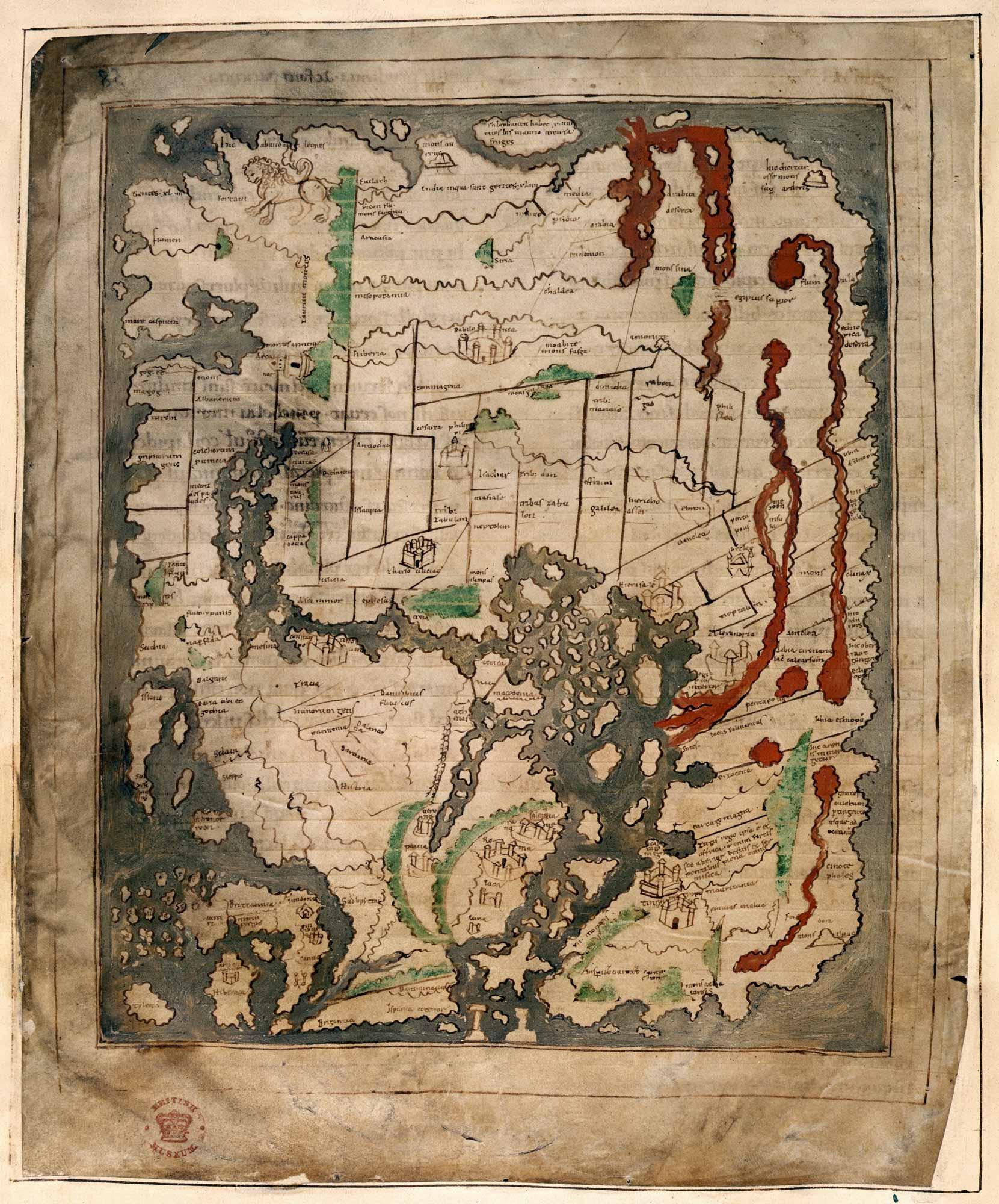 Anglo Saxon Mappa Mundi