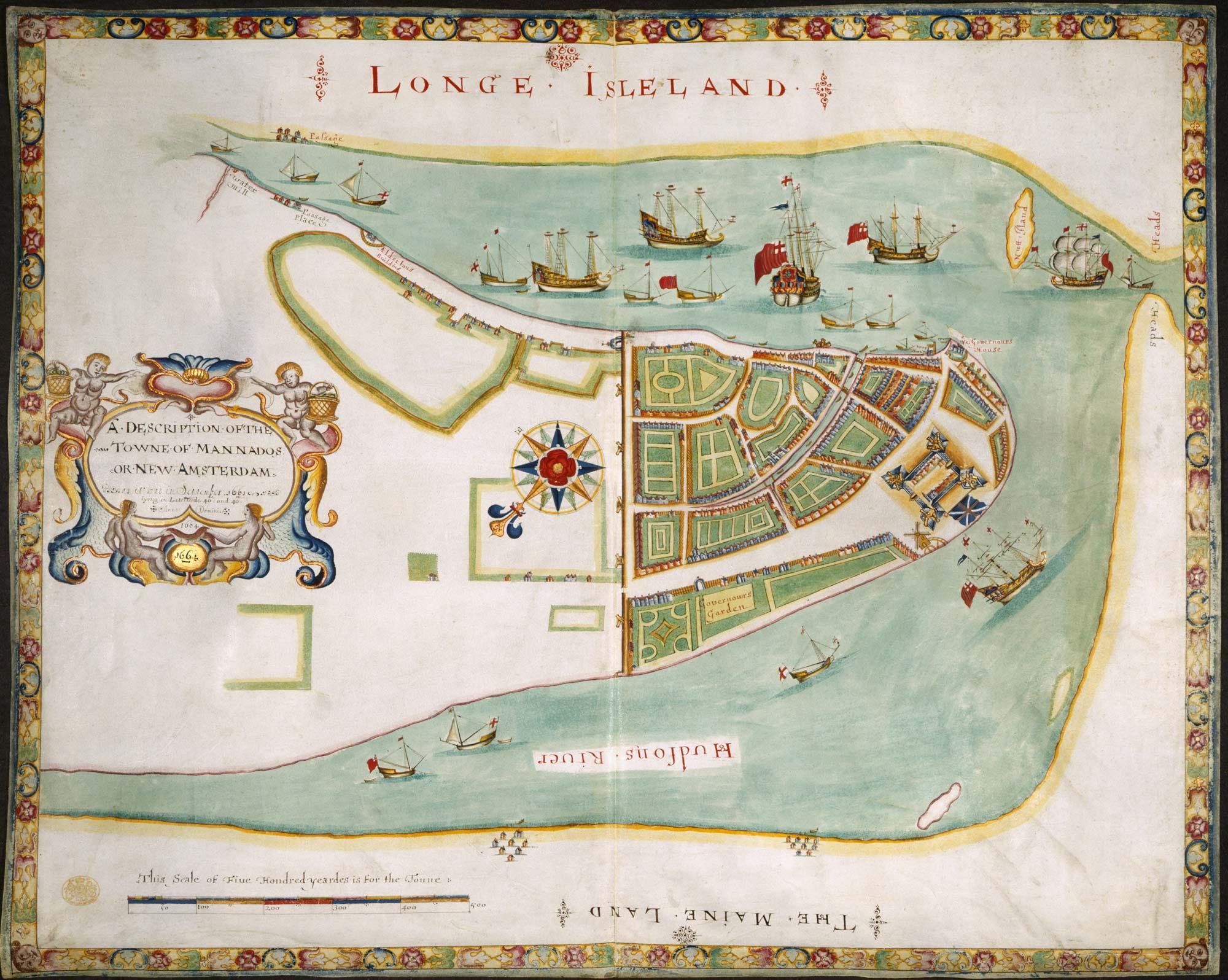 The Duke's Plan of New York
