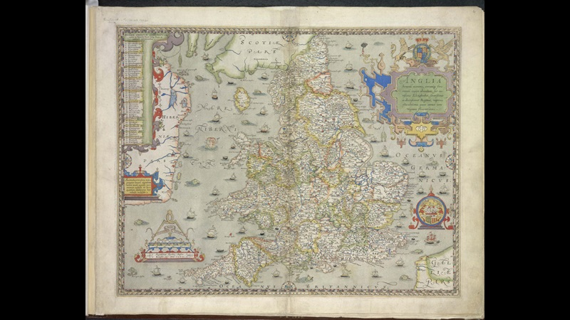 Christopher Saxton's England and Wales Proof Maps