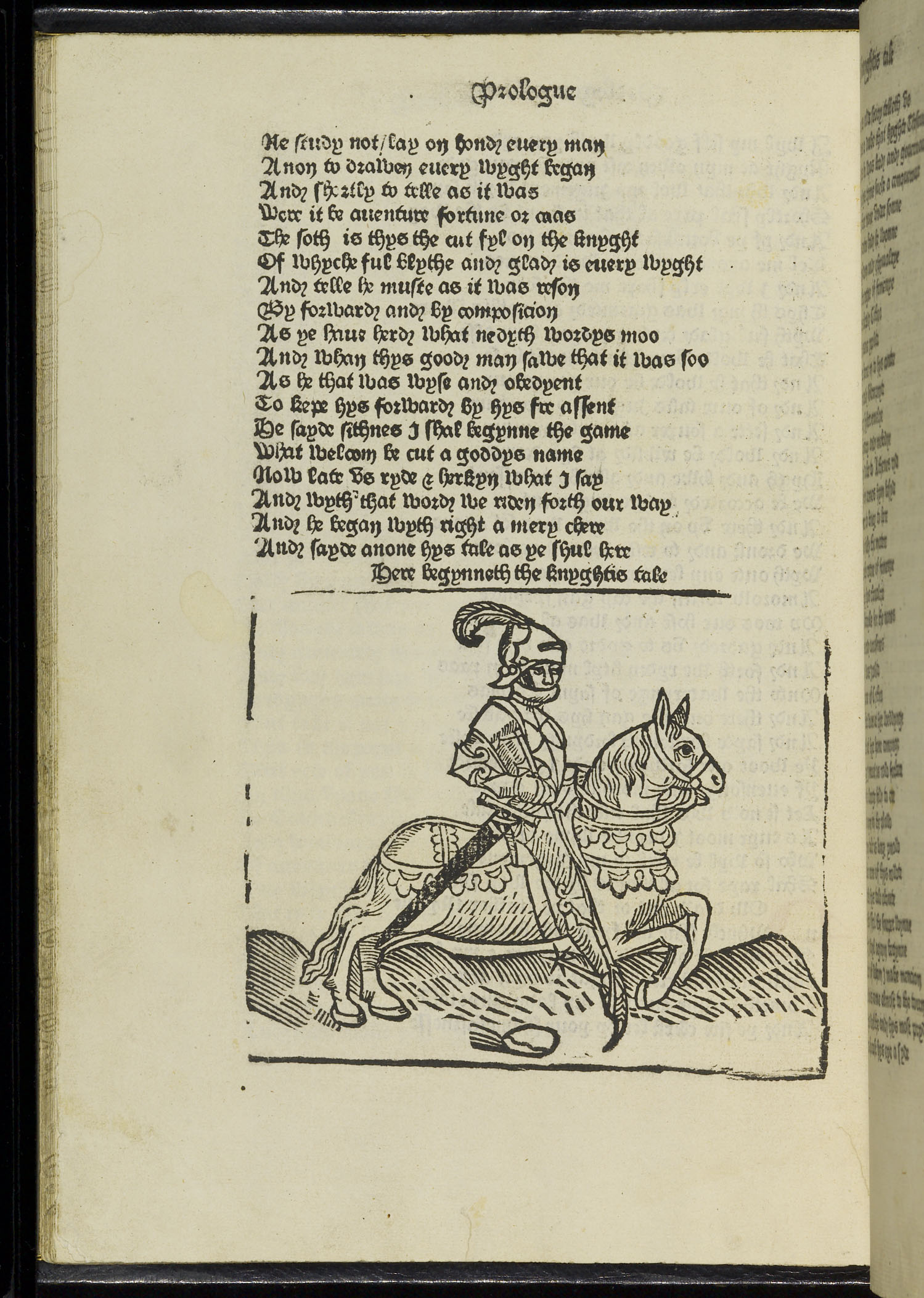 William Caxton's Chaucer.