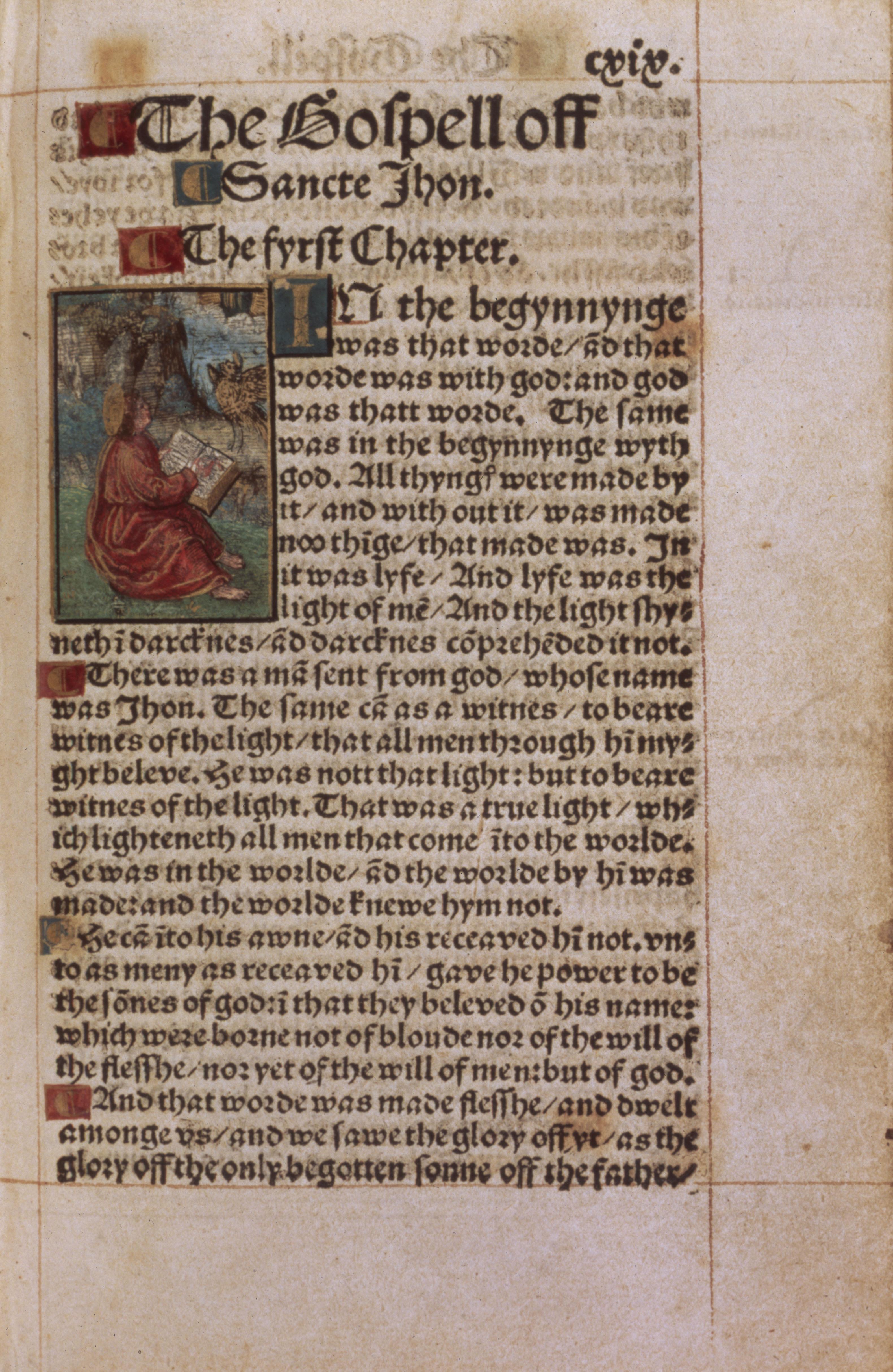 William Tyndale: New Testament.