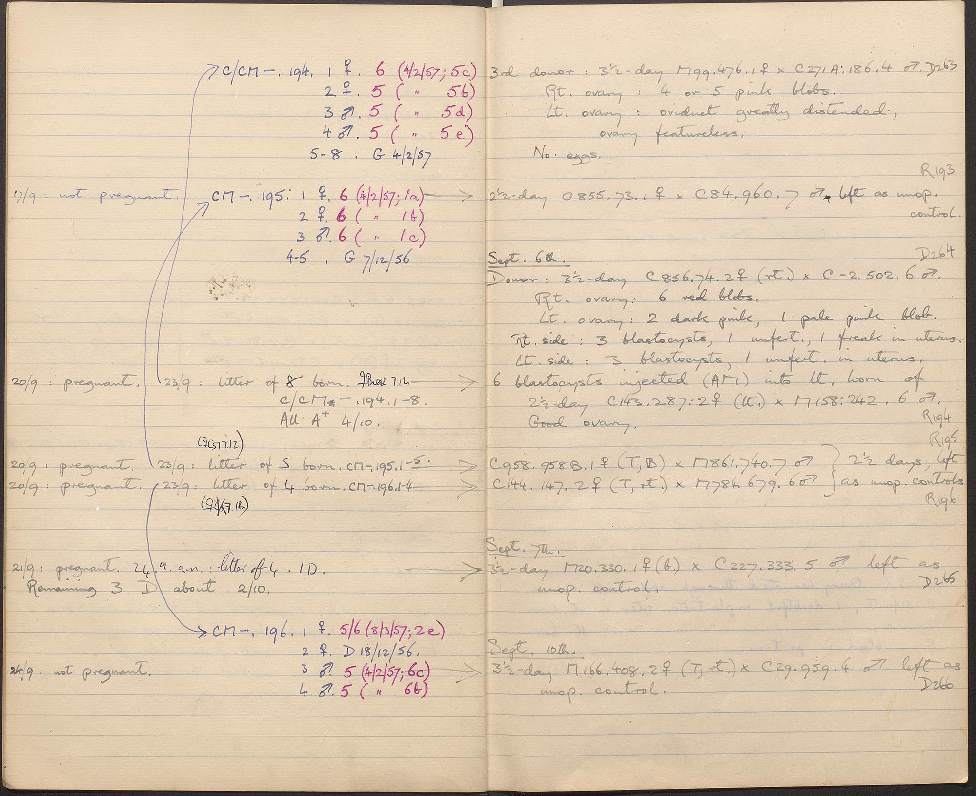 Anne McLaren note book_0006