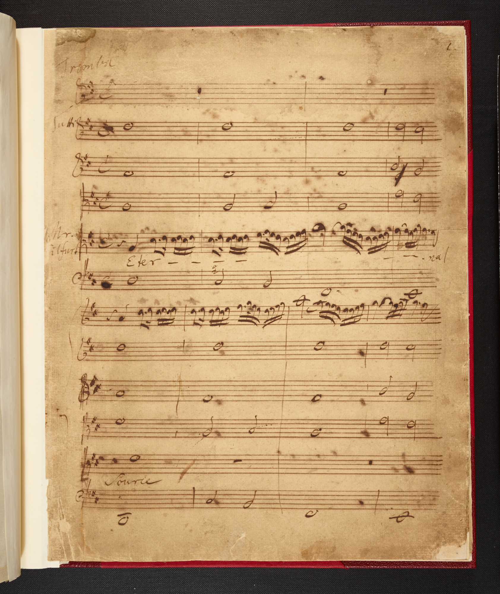 Handel, Birthday Ode for Queen Anne