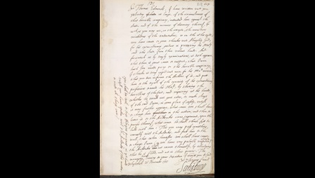 letter about guy fawkes collaborator, Owen, from Robert Cecil the Lord of Salisbury