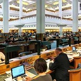 Get started at the British Library, photo of a Reading Room