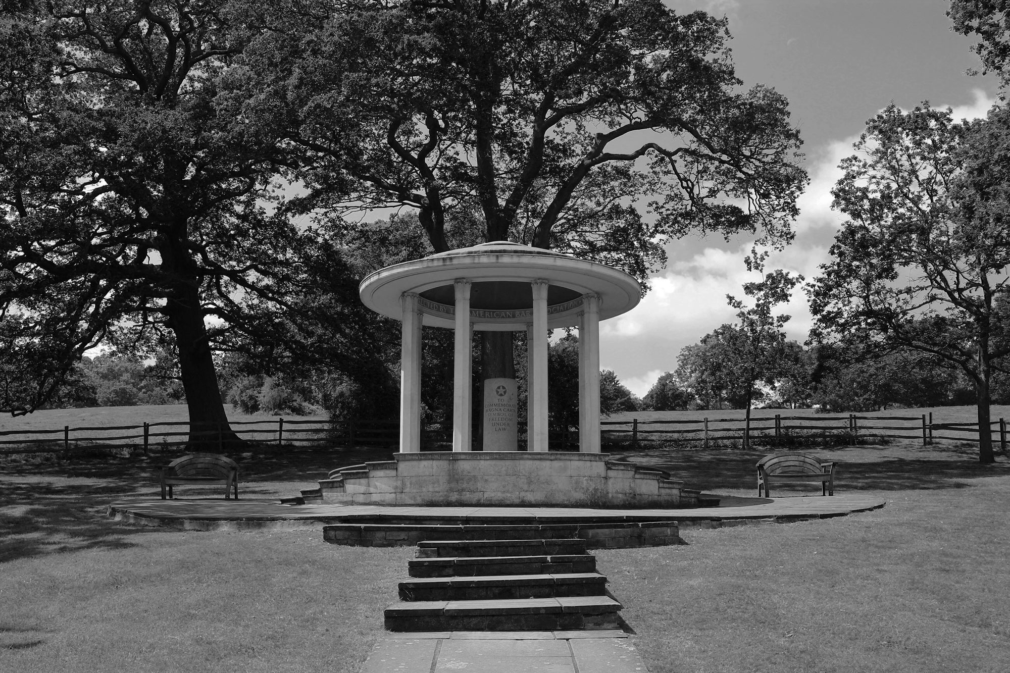 American Bar Association Memorial to Magna Carta, Runnymede. Photograph by Alison Avery.