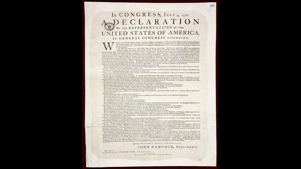The American Declaration of Independence, Dunlap printing