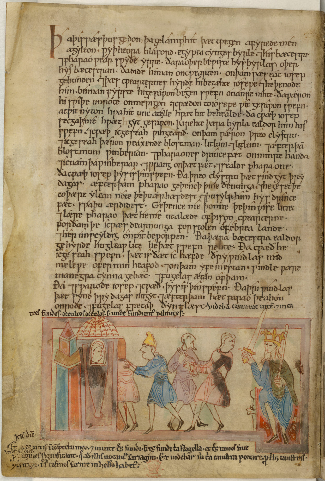 Anglo Saxon justice in the Old English Hexateuch