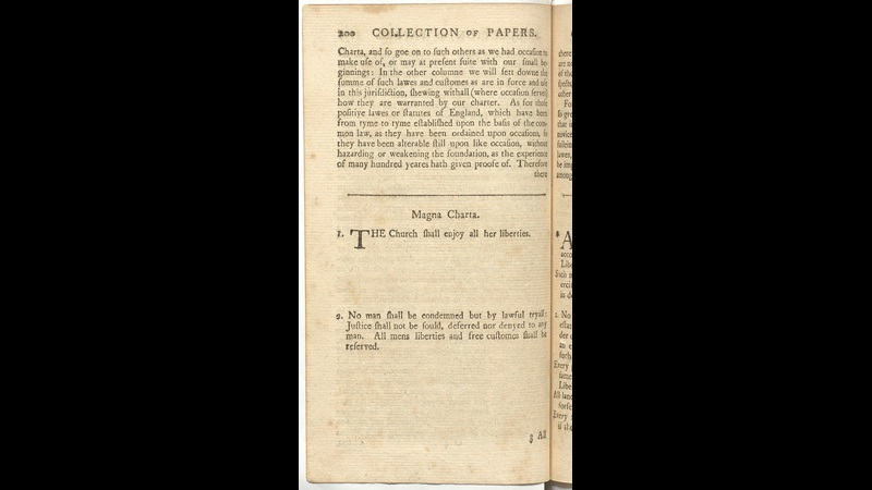 The Declaration and Parallels from A Collection of Original Papers relative to the History of the Colony of Massachusets-Bay
