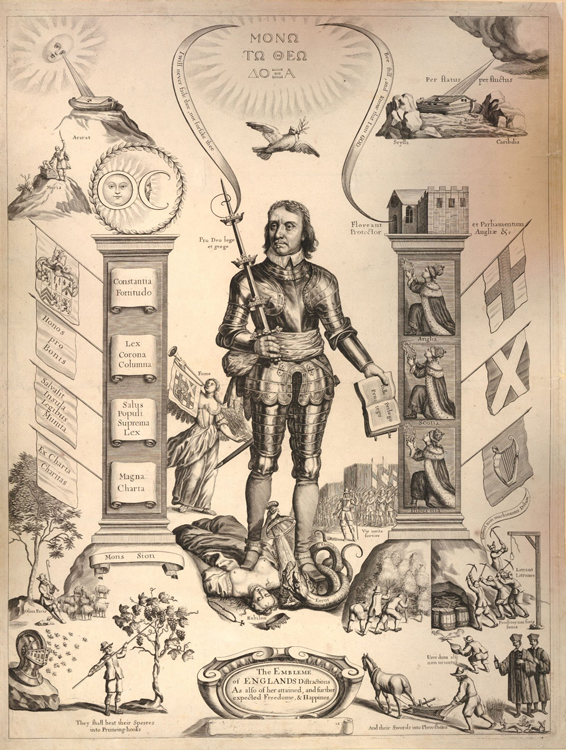 The Embleme of Englands distractions, 1658