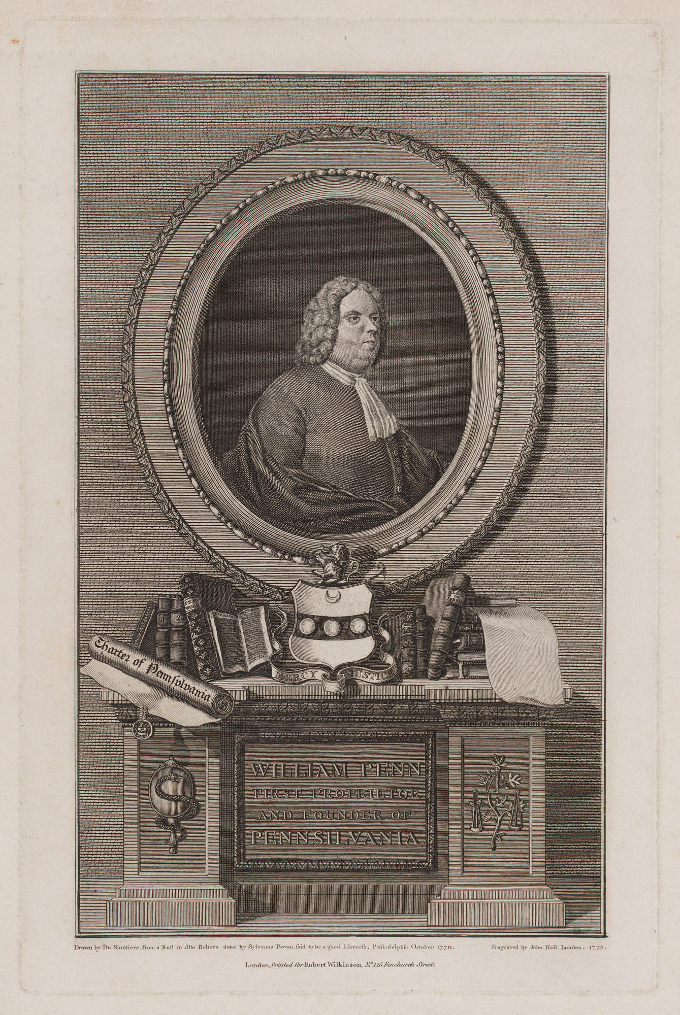 Engraving of William Penn
