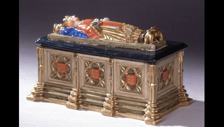 Inkstand in the form of King John's tomb