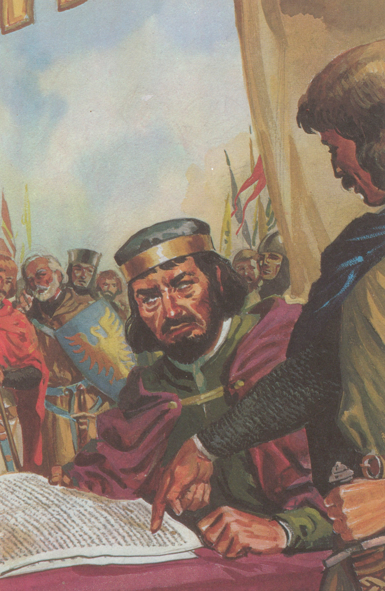 King John and Magna Carta, A Ladybird Adventure from History Book