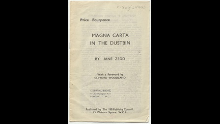 Magna Carta in the Dustbin