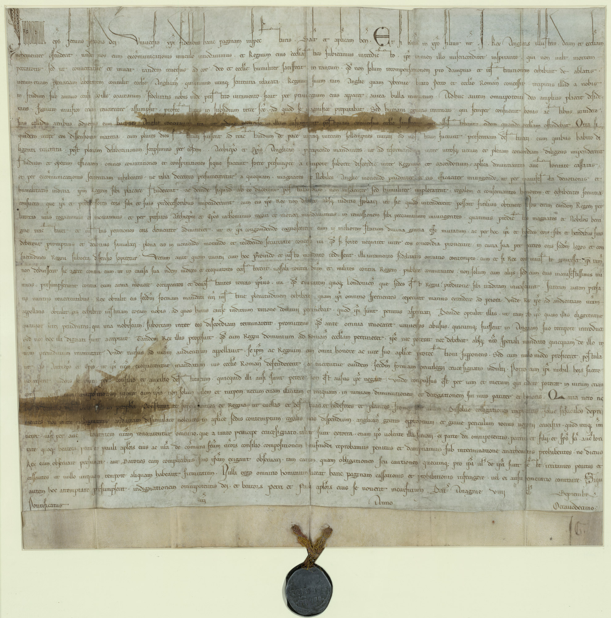 The Papal Bull Annulling Magna Carta