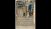 The poisoning of King John and coronation of King Henry III