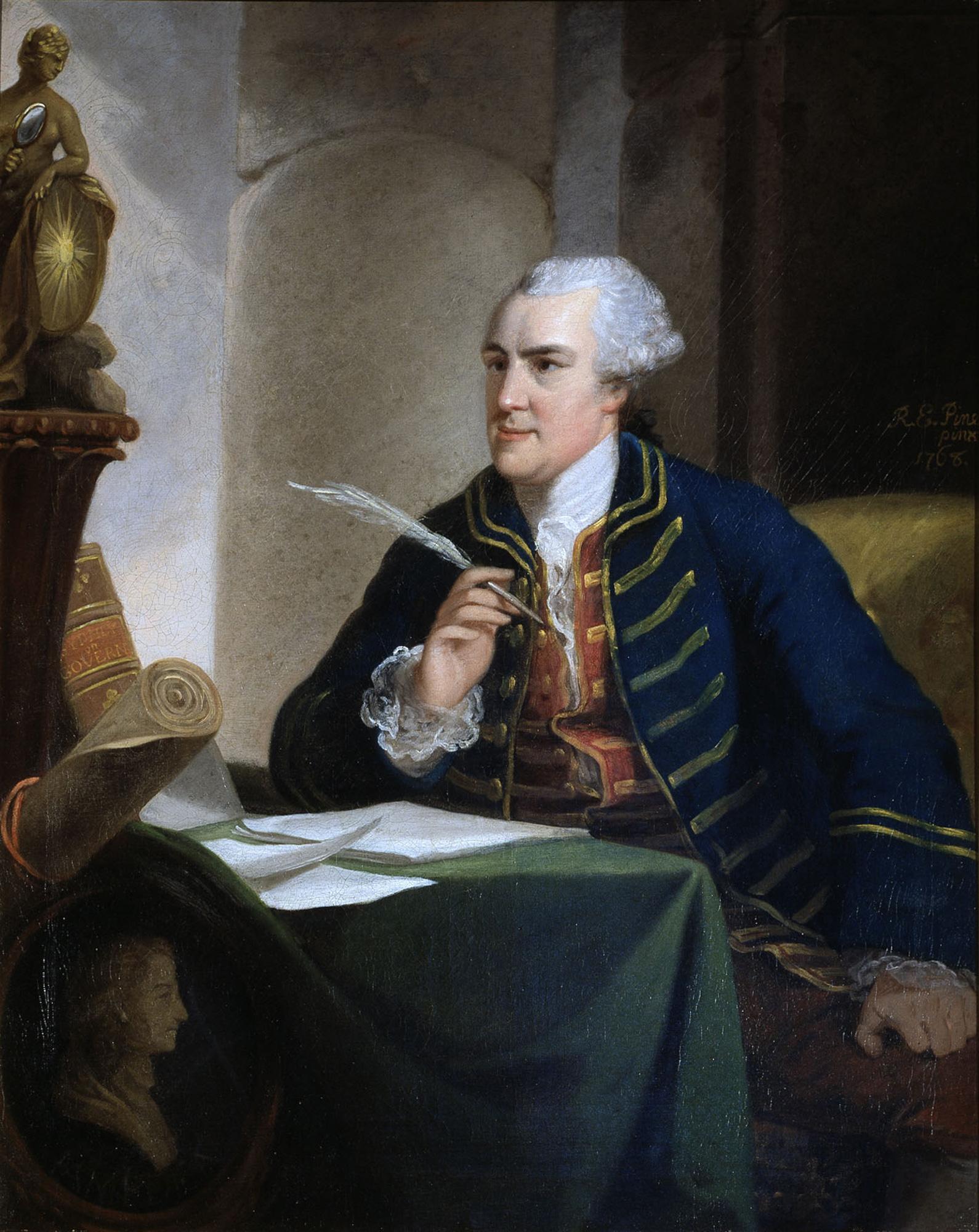 Portrait of John Wilkes MP