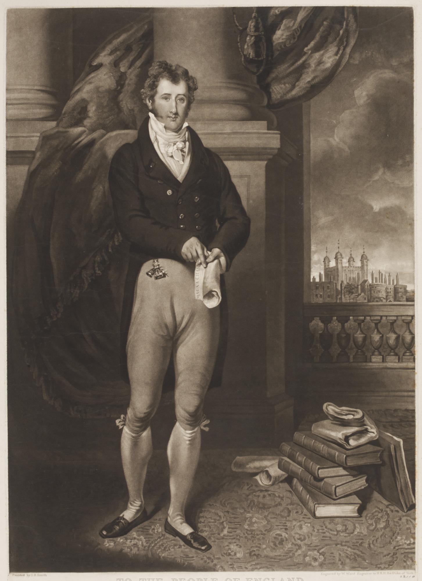 Print of Sir Francis Burdett MP