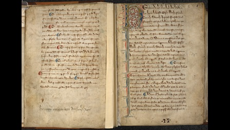 Statute book containing Magna Carta issued by King John and Henry III