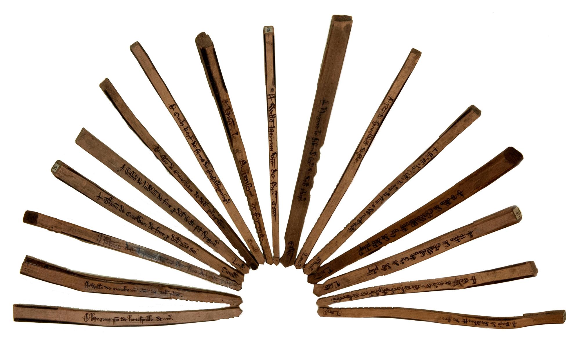 Tally sticks
