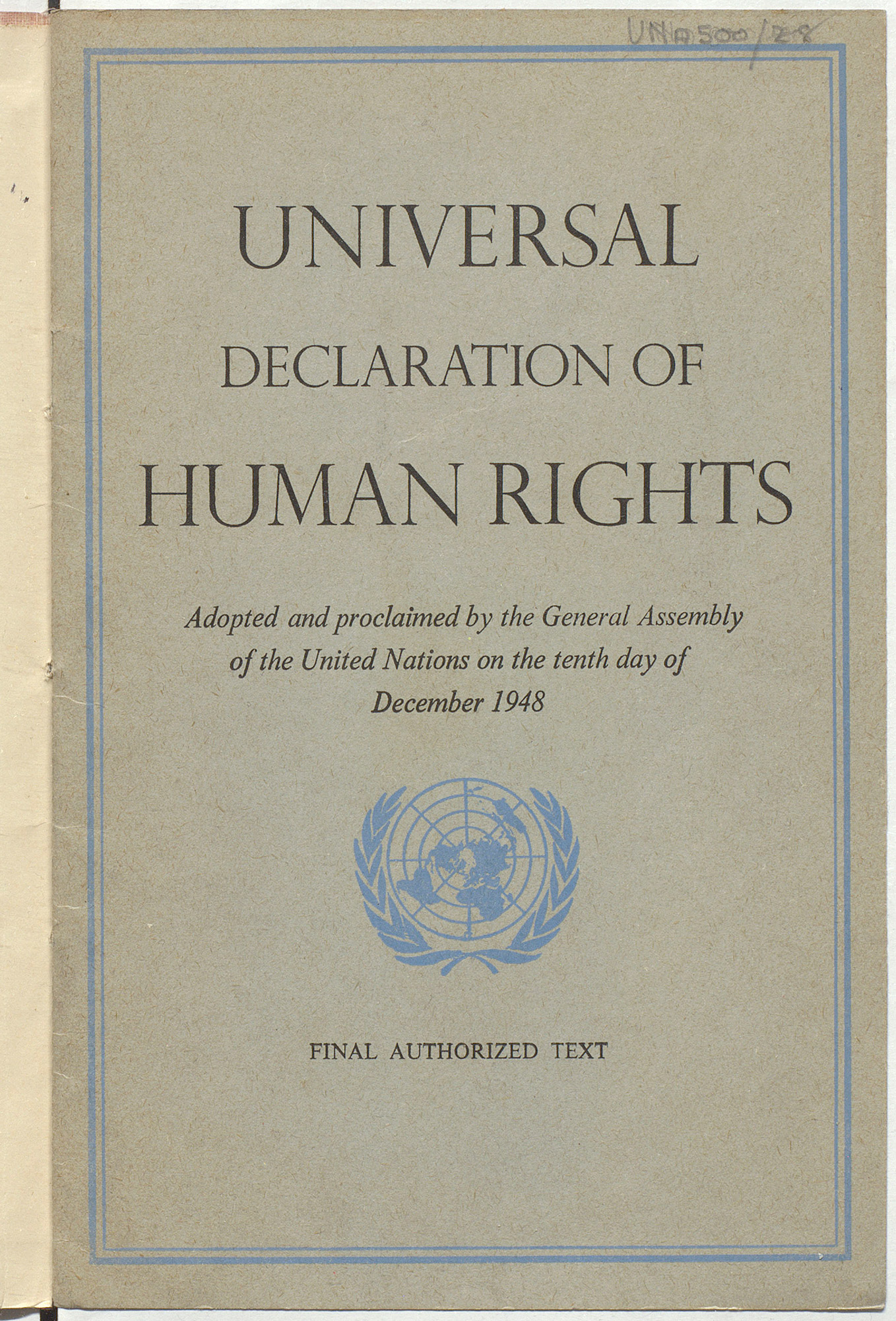 universal declaration of human rights - the british library