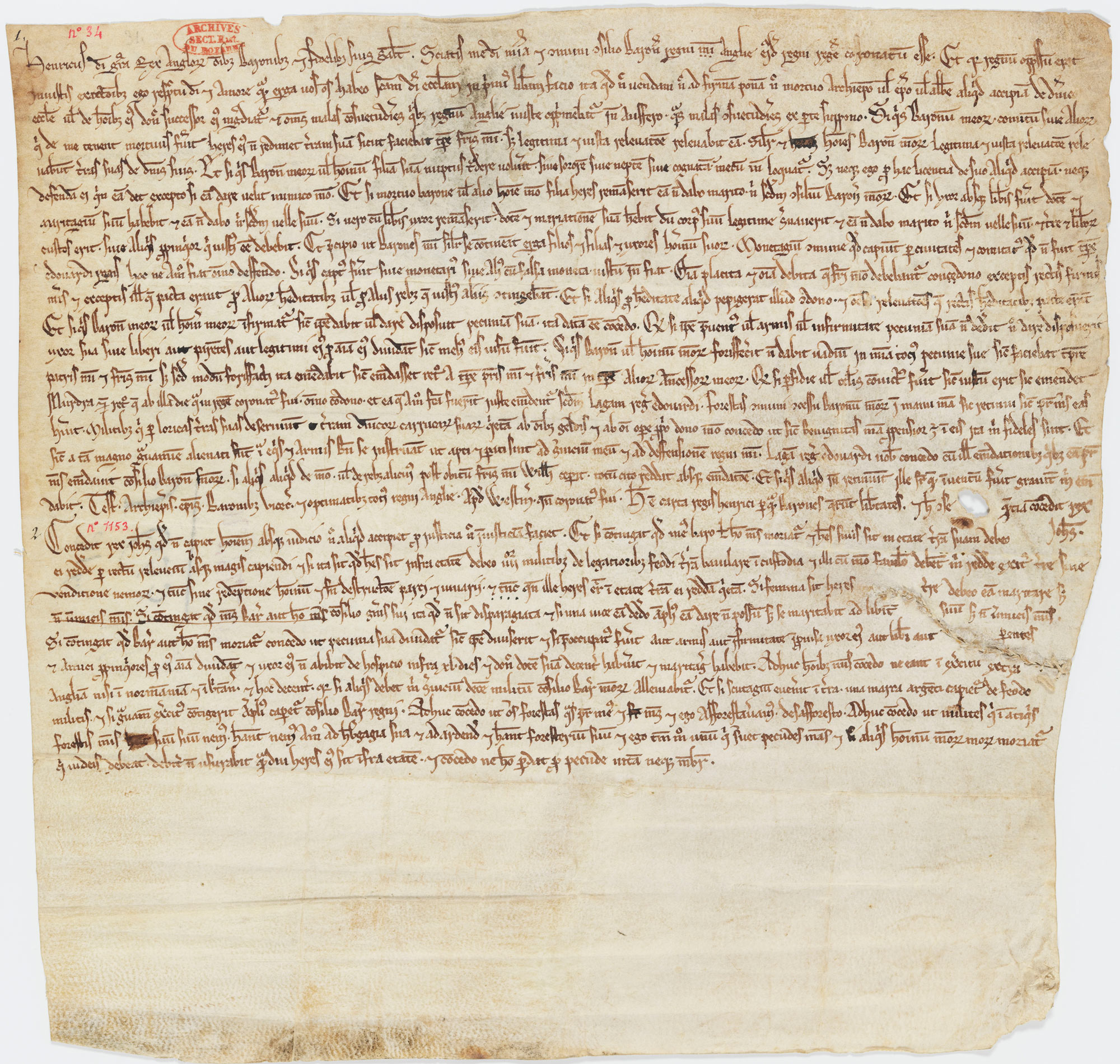 The Unknown Charter