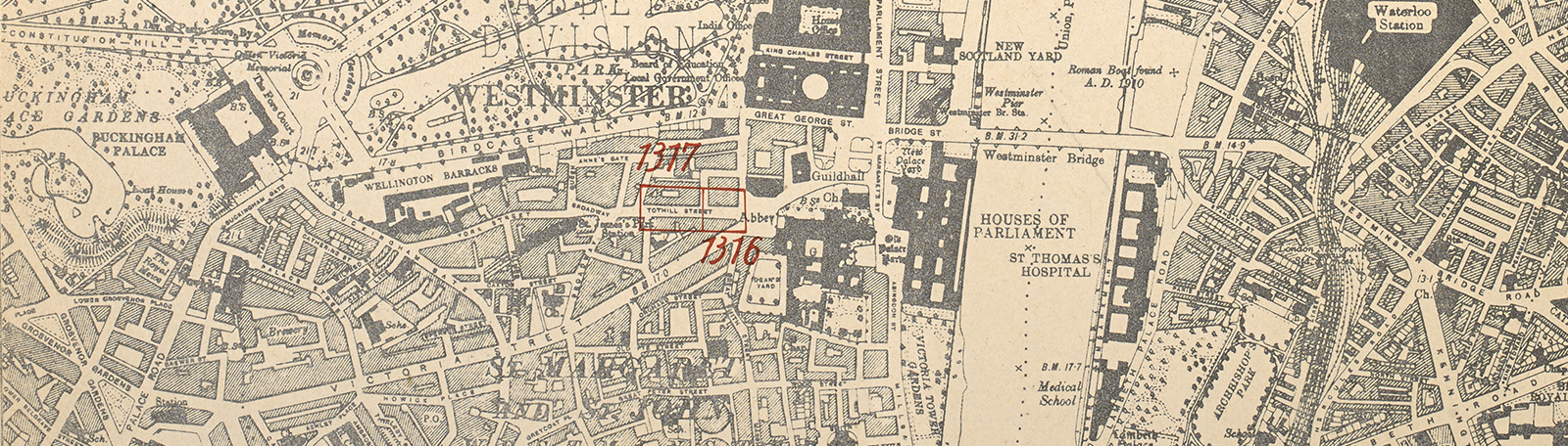 Map Of City Of London Uk.20th Century London Maps The British Library