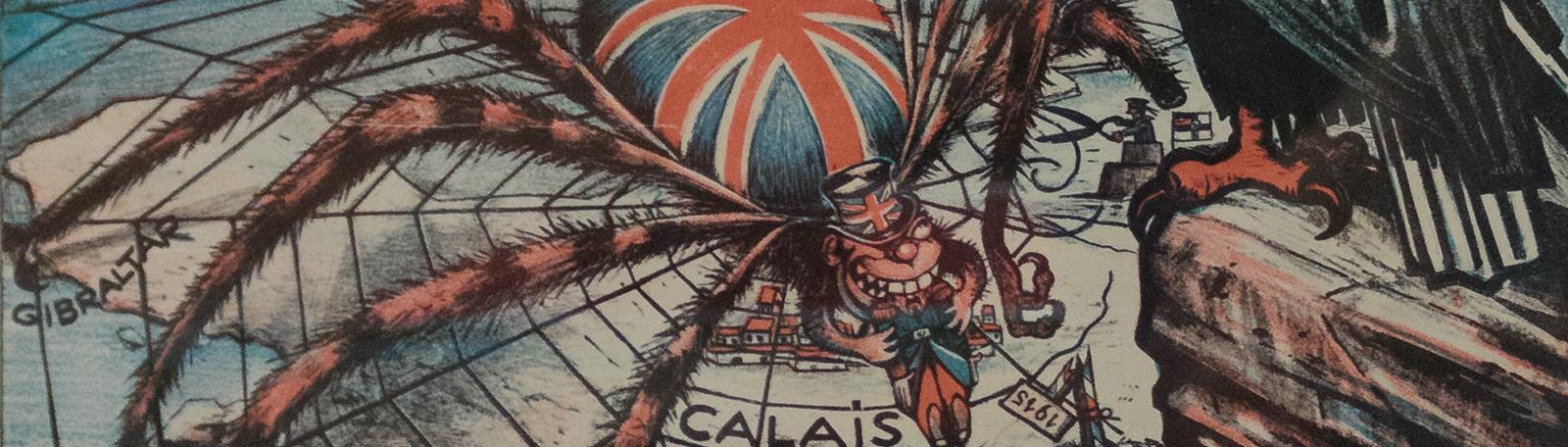 War theme banner - L'Entente cordiale