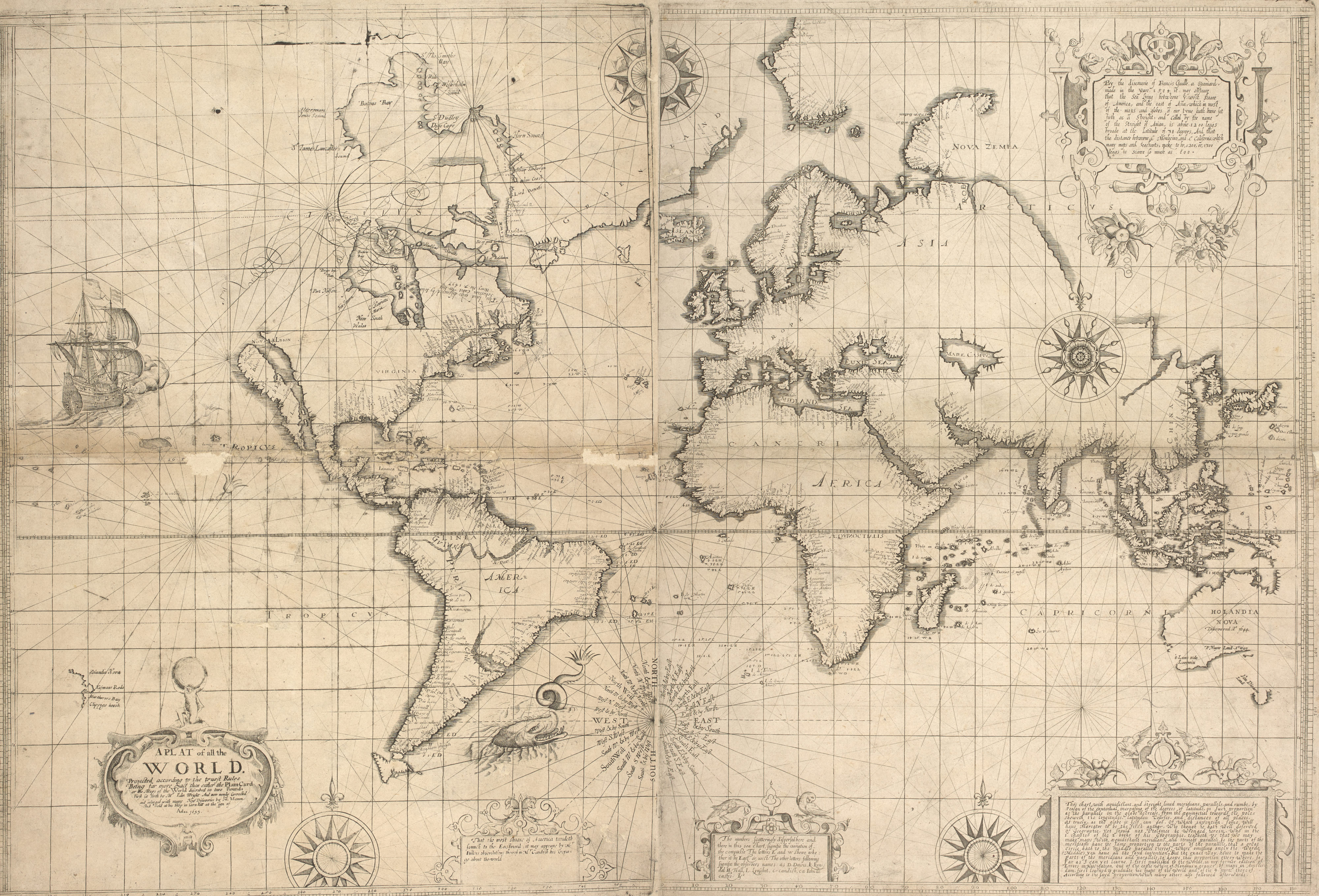 A plat of the world (C.31.e.25)